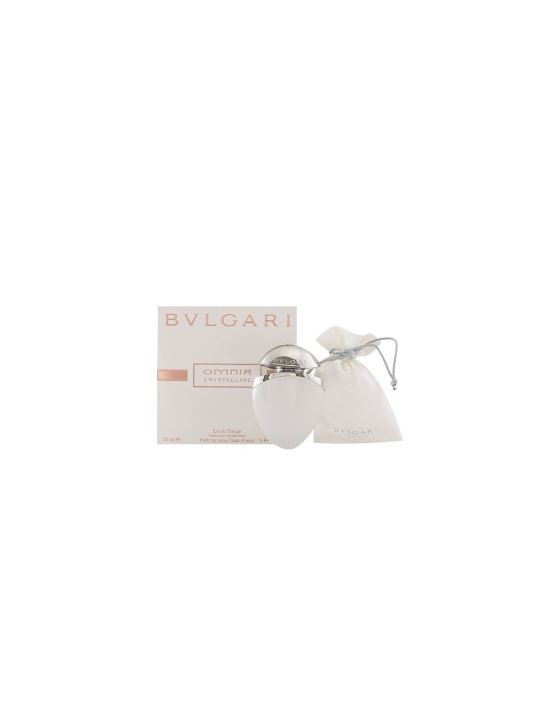 Perfume Omnia Crystalline Eau de Toilette Satin Pouch 25 ml ... 35ae2297d1