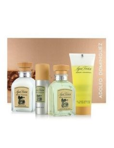 Adolfo Dominguez Agua Fresca Eau de Toilette 120ml + After Shave 120ml + Deo Spray 150ml + Mini Eau de Toilette 10ml