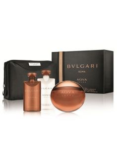 Bvlgari Aqva Amara Eau de Toilette 100ml + After Shave 75ml + Shower Gel 75ml + Necessaire
