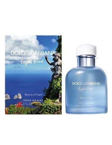 D&G Light Blue Pour Homme Beauty of Capri Eau de Toilette 125ml