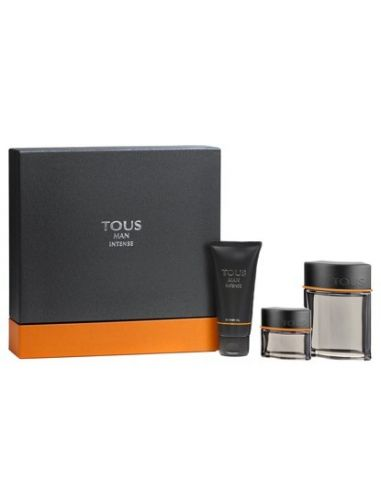 Tous Man Intense Eau de Toilette 100ml + Shower Gel 100ml + Deo Spray 10ml