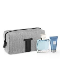 Azzaro Chrome Eau de Toilette 50ml + Shower Gel 50ml + Necessaire