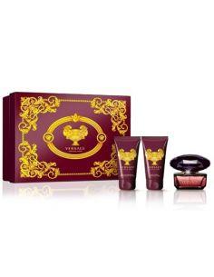 Versace Crystal Noir Eau de Toilette 50ml + Body Lotion 50ml + Shower Gel 50ml