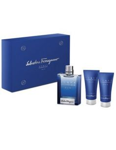 Salvatore Ferragamo Acqua Essenziale Blu Eau de Toilette 100ml + Shower Gel 150ml + After Shave 50ml
