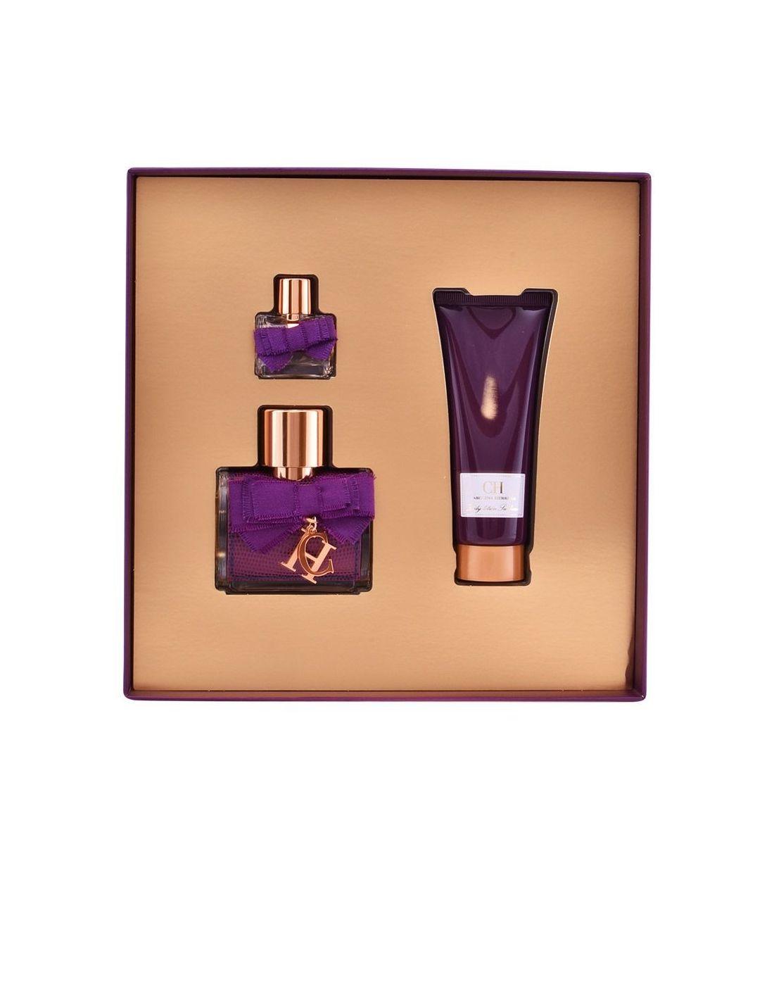ecbfbb90d9bc4 Coffret Carolina Herrera Sublime Eau de Parfum 50 ml + Body Lotion 75 ml +  Edp