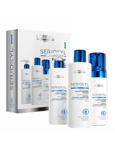 Serioxyl Conditioner + Mousse + Shampoo Cabelo Normal