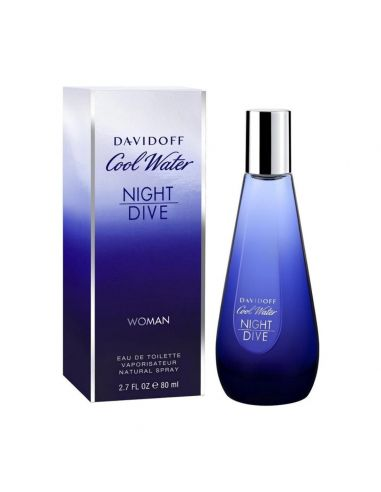 Cool Water Woman Night Dive Eau de Toilette 80 ml