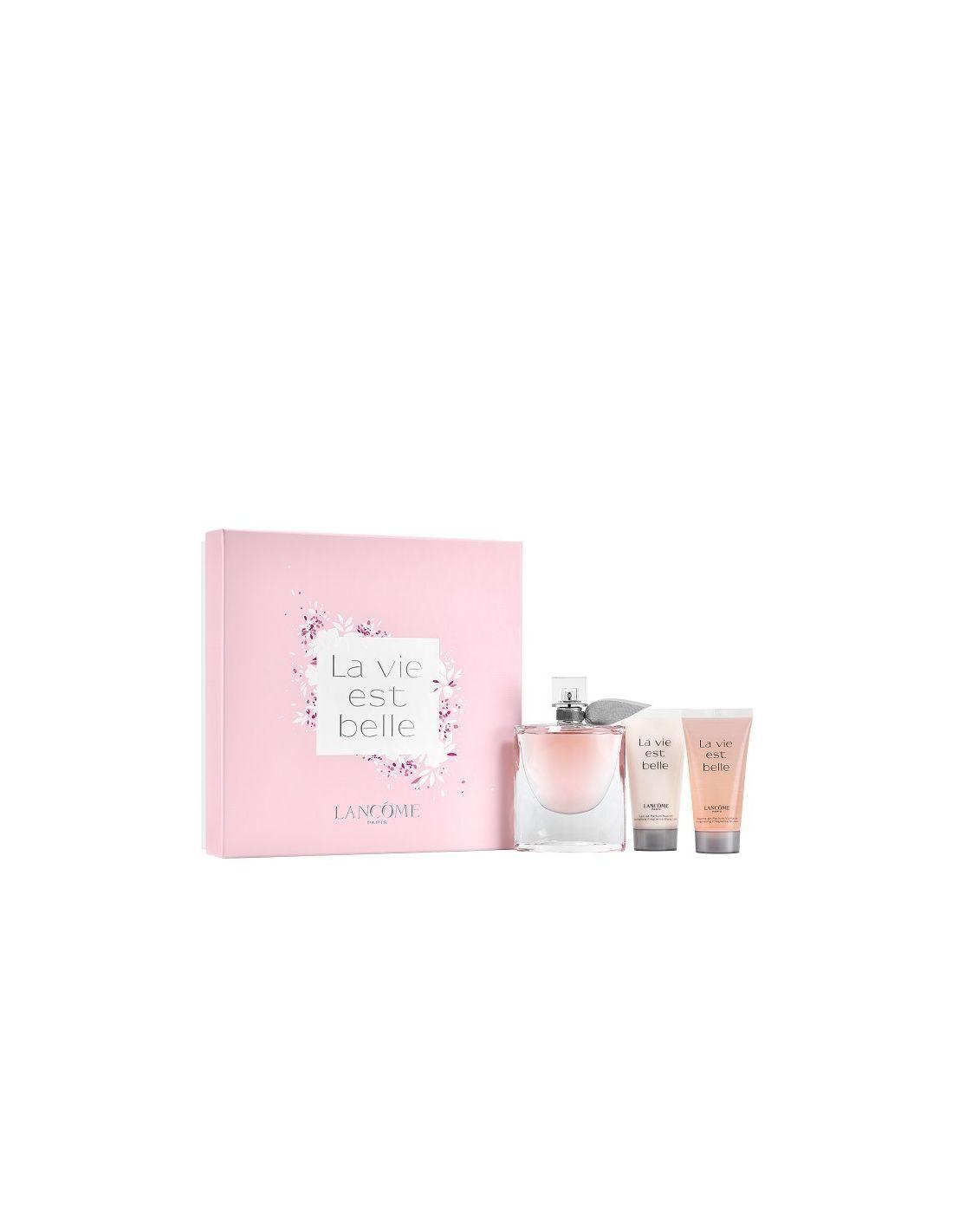 la vie est belle coffret edp 75 ml body lotion shower gel perfumes 24. Black Bedroom Furniture Sets. Home Design Ideas