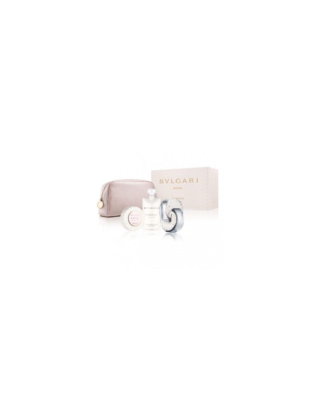 Omnia Crystalline Coffret Edt 65 ml + Body Lotion + Soap + Necessaire fcc8556929