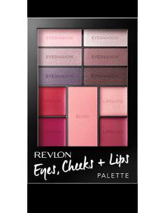 Palette Eyes + Cheeks + Lips n°300 Berry in Love