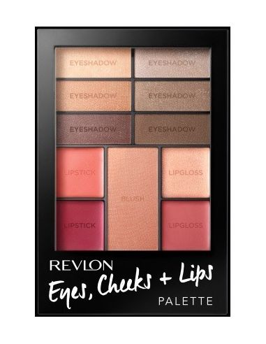 Palette Eyes + Cheeks + Lips n°100 Romantic Nudes