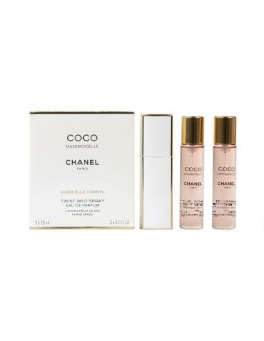 Coco Mademoiselle Eau de Parfum 3X20 ml