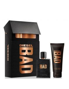 Coffret Diesel Bad Eau De Toilette 50 ml + Shower Gel 100 ml
