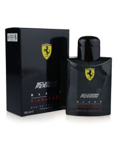 Ferrari Scuderia Black Signature Eau de Toilette 125 ml