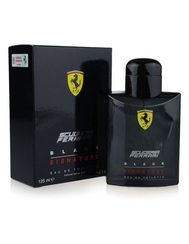 Ferrari Scuderia Black Signature Eau de Toilette 125 ml