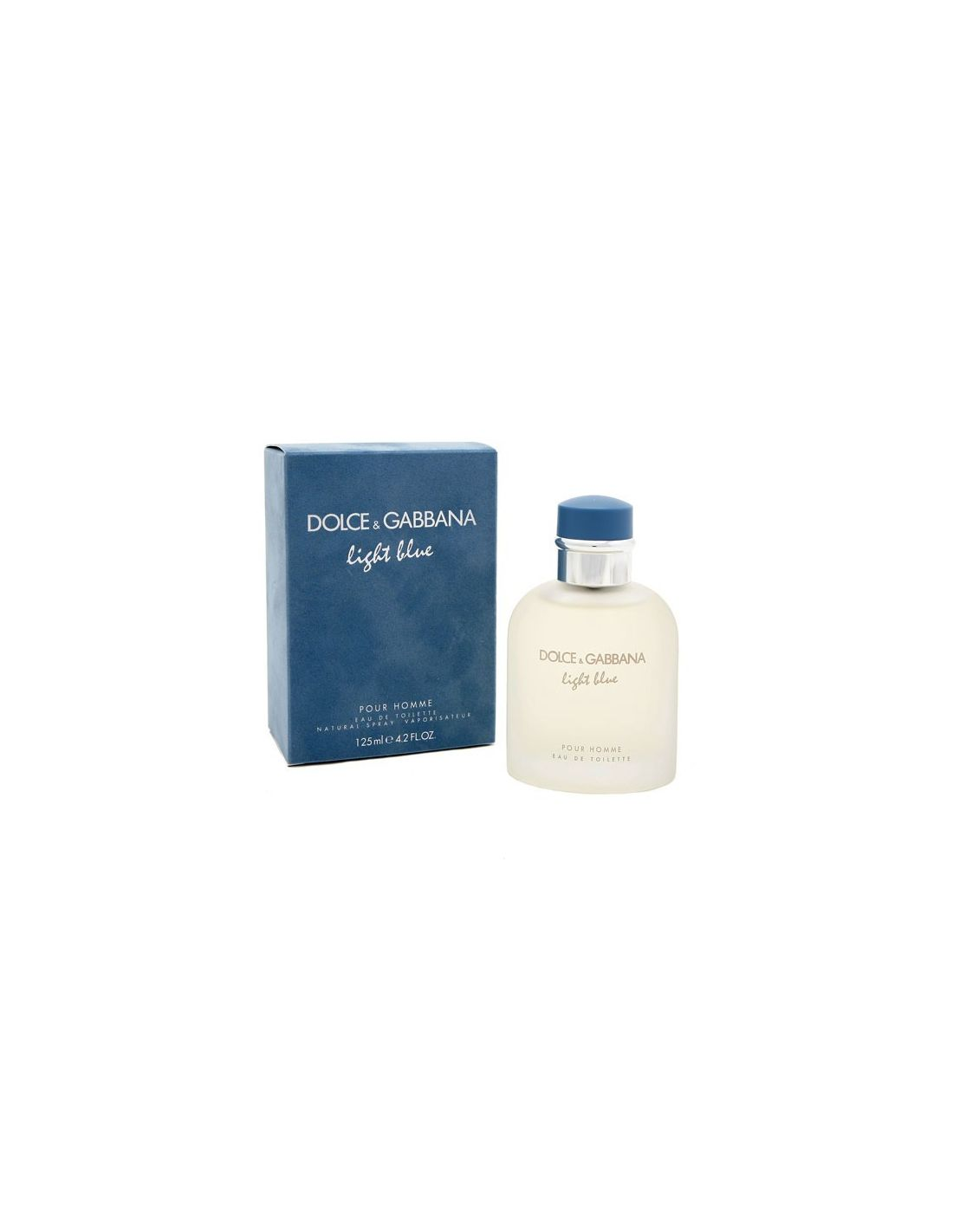 Perfume Light Blue Homme Eau De Toilette 125 Ml Perfumes