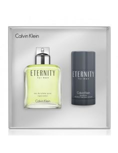Coffret Calvin Klein Eternity for Men Eau de Toilette 100ml + Deo Stick 75gr
