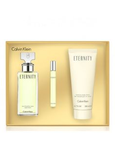 Coffret Eternity Eau de Parfum 100 ml + Body Lotion 200ml + Edp 10ml