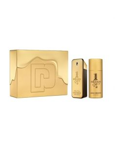 Coffret Paco Rabanne 1 Million Eau de Toilette 100ml + Deo Spray 150ml