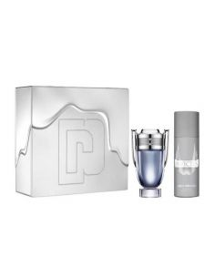 Coffret Paco Rabanne Invictus Eau de Toilette 100ml + Deo Spray 150ml