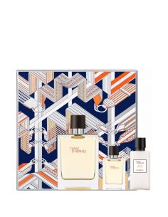 Coffret Terre D'Hermès Eau de Toilette 100 ml + After Shave 40ml + Edt 12,5ml
