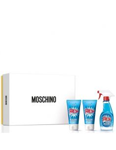 e5ceb07b1933c Coffret Moschino Fresh Couture Eau de Toilette 50ml + Shower Gel 50ml +  Body Lotion 50ml