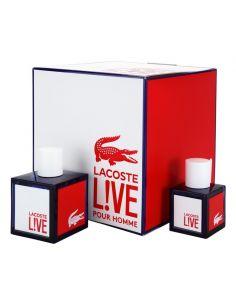 Coffret Lacoste Live Eau de Toilette 100 ml + Eau de Toilette 40 ml
