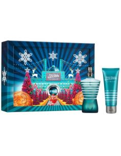 Coffret Le Male Eau de Toilette 125 ml + Gel de Duche 75 ml