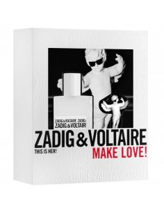 Coffret Zadig & Voltaire This is Her Eau de Parfum 30ml + Porta Chaves