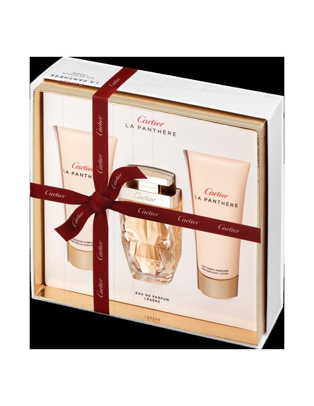 ab2364c3a17 Coffret La Panthére Eau de Parfum Légère 75 ml + Shower Gel 100 ml + Body
