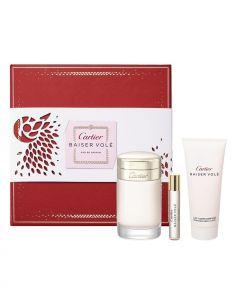 Coffret Baiser Volé Eau de Parfum 100 ml + Body Lotion 100 ml + Edp 9 ml