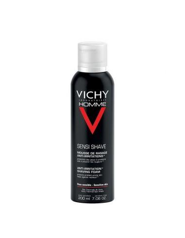 Vichy Homme Espuma Pele Sensivel 200ml