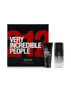 Coffret Carolina Herrera 212 Vip Black Eau de Parfum 100 ml + Shower Gel 100 ml