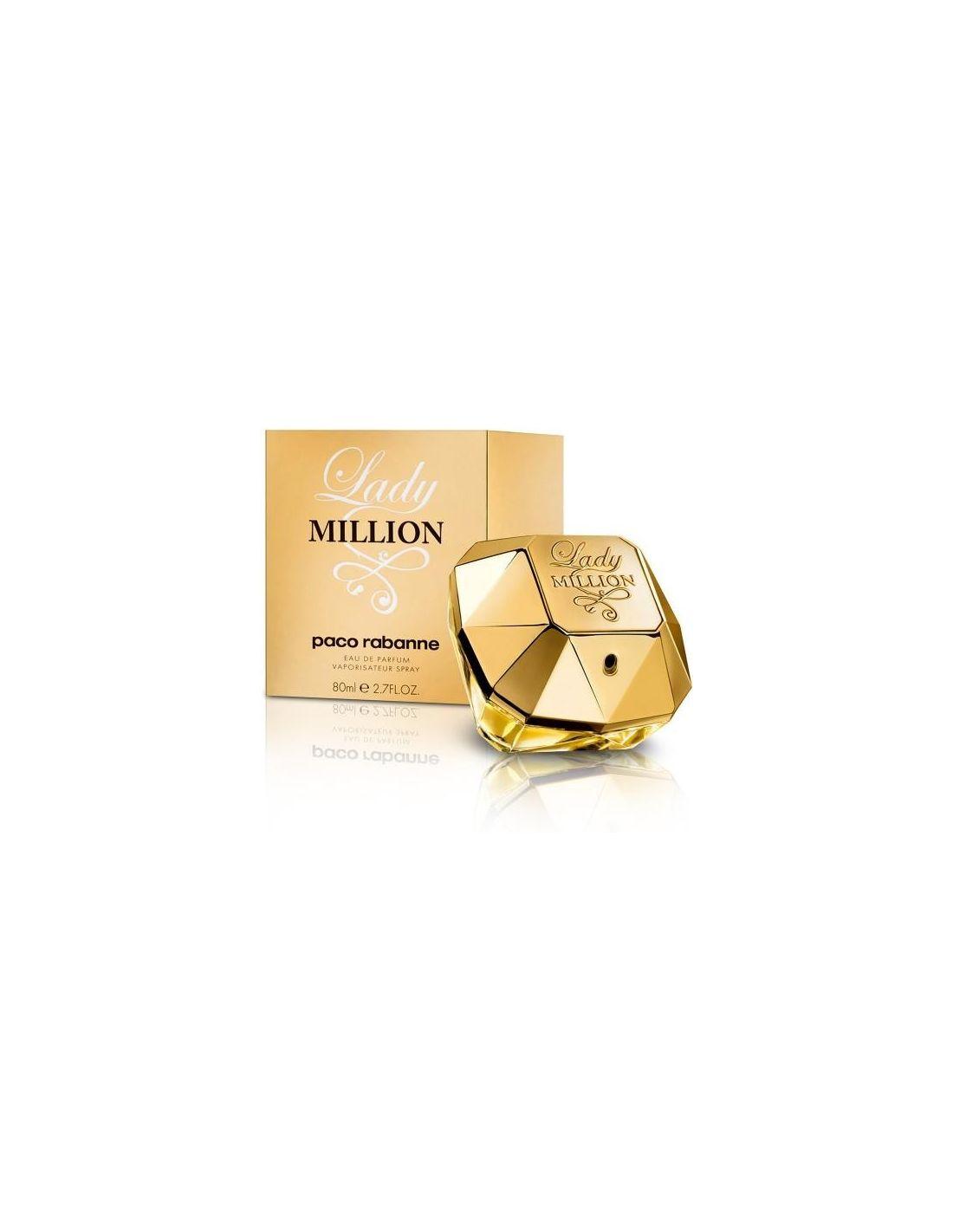 perfume lady million eau de parfum 80 ml perfumes 24. Black Bedroom Furniture Sets. Home Design Ideas