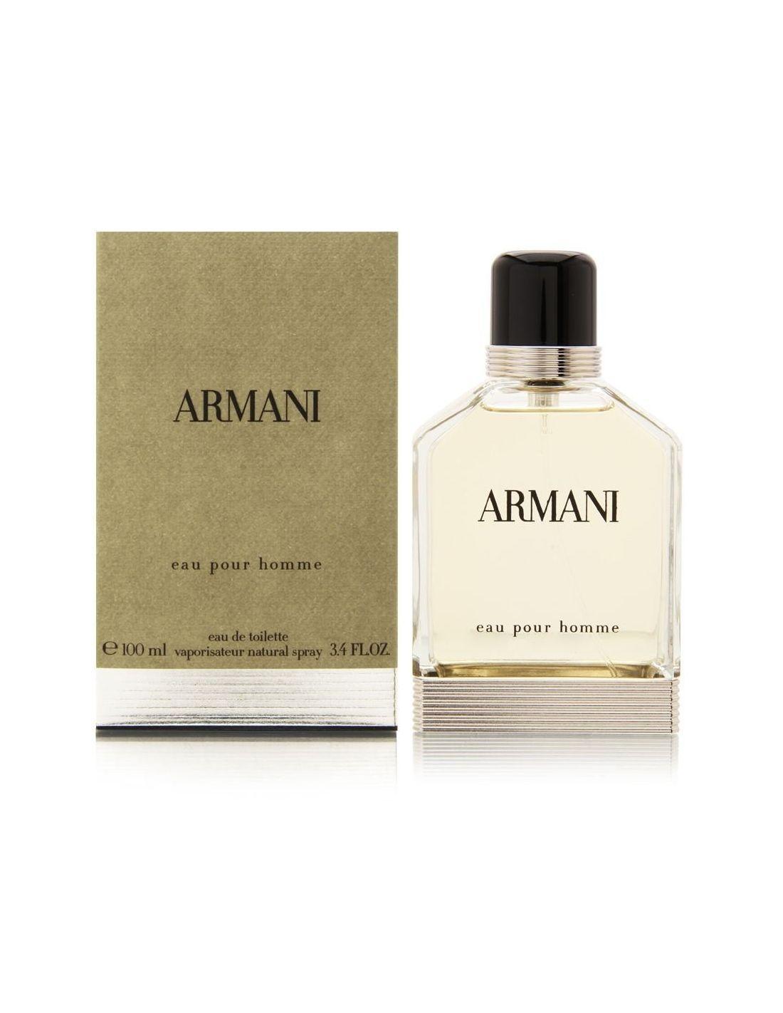 perfume armani eau pour homme eau de toilette 100 ml. Black Bedroom Furniture Sets. Home Design Ideas