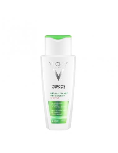 Vichy Dercos Anticaspa Sensitive  Shampoo 200 ml