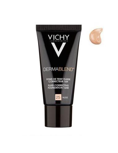 Vichy Dermablend Fond de Teint Correcteur n°25 Nude 30 ml