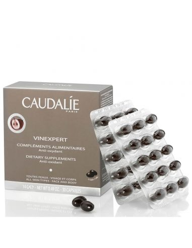 Caudalie Vinexpert Supplements 30 Capsulas