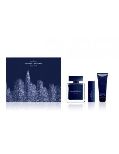 Narciso Rodriguez Bleu Noir Eau de Toilette 100 ml + Shower Gel 75 ml + Edt 10 ml