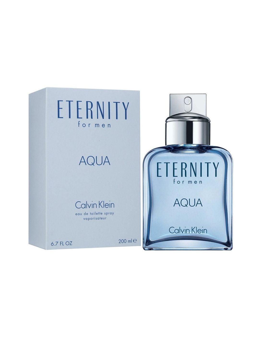 Eternity Aqua Men Eau de Toilette 200 ml Perfumes 24   Perfumaria Online bf00e531c0