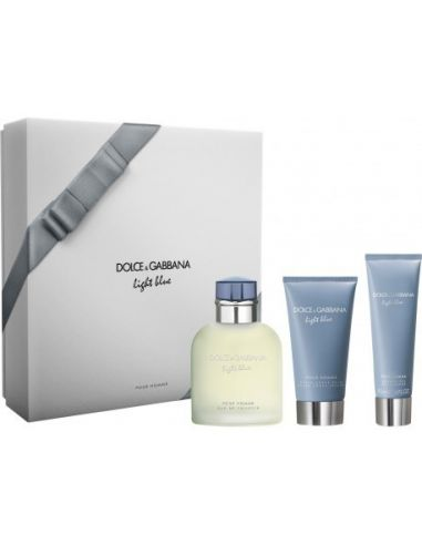 Coffret Light Blue Homme Eau de Toilette 125 ml + After Shave 75 ml + Shower Gel 50 ml