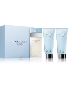 Coffret Light Blue Eau de Toilette 100 ml + Shower Gel 100 ml + Body Cream 100 ml