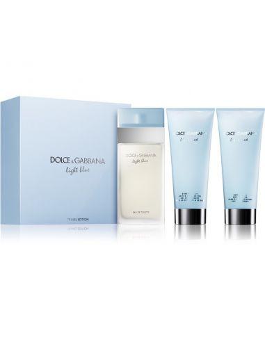 Coffret Light Blue Eau de Toilette 100 ml + Shower Gel 100 ml + Body Cream 100 ml