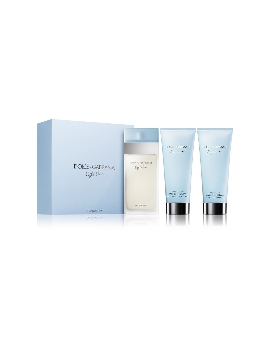 Coffret Light Blue Eau de Toilette 100 ml + Shower Gel 100 ml + Body Cream 08a56df2a9
