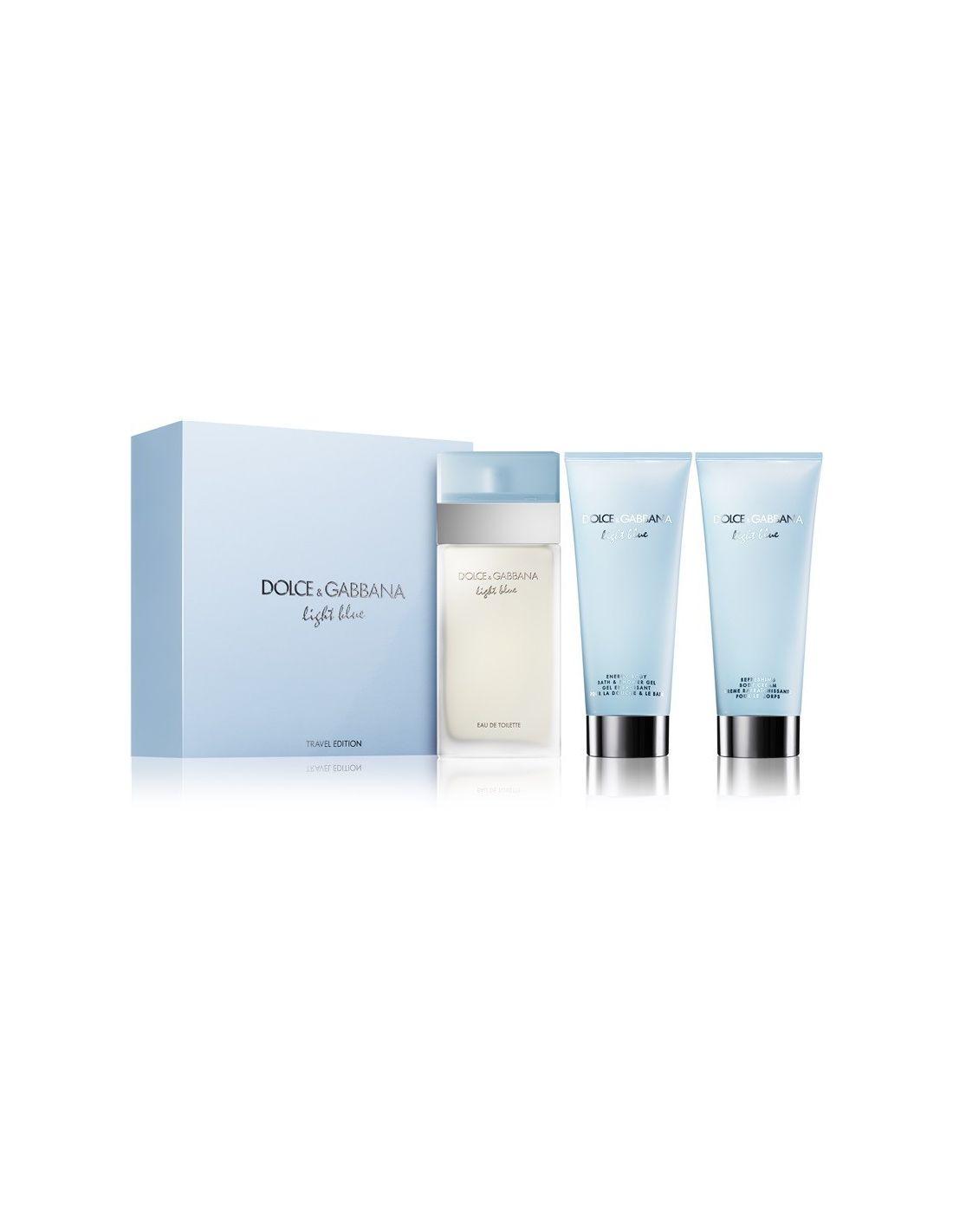 c55bf9ebd9274d Coffret Light Blue Eau de Toilette 100 ml + Shower Gel 100 ml + Body Cream
