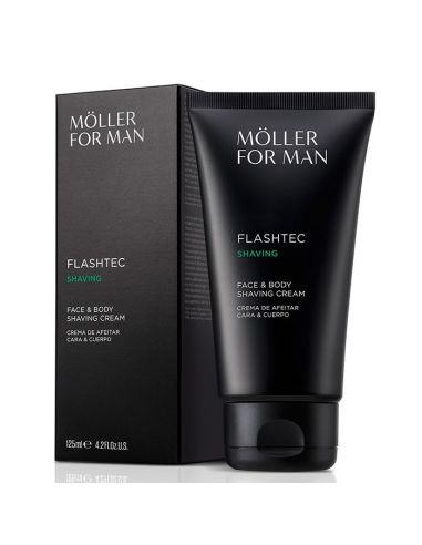 Anne Möller Flashtec Shaving Face & Body Shaving Cream 125 ml