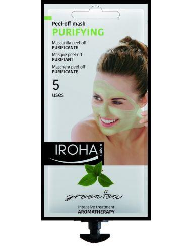 Iroha Peel-Off Mask Purifying Green Tea 5 uses