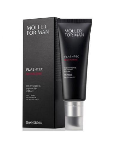 Anne Möller Flashtec Moisturizing Detox Gel Cream 50 ml
