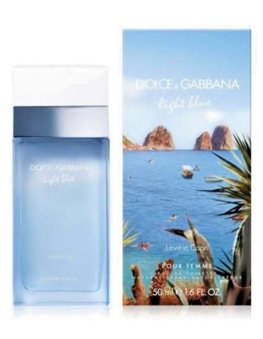 D&G Light Blue Love in Capri Eau de Toilette 50 ml