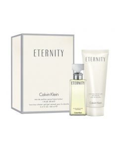 Coffret Eternity Eau de Parfum 30 ml + Shower Gel 100 ml